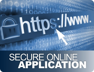 Secure online application