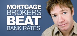 Mortgage Brokers Beat Bank Rates